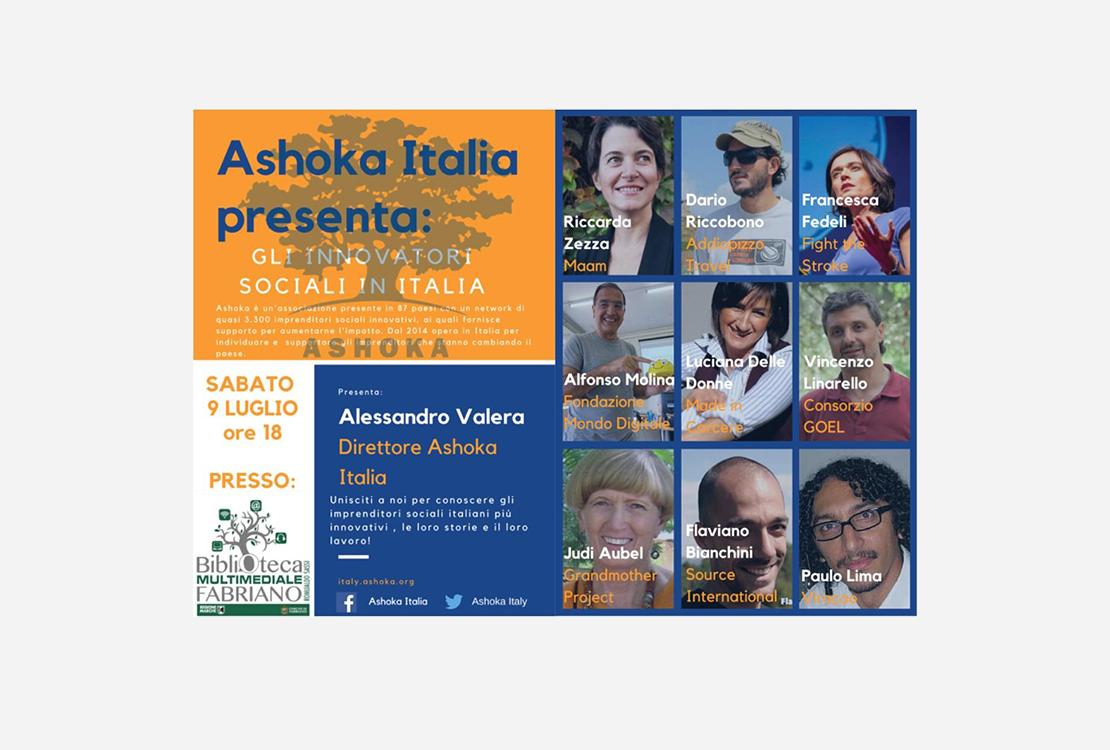 Ashoka Italia a Fabriano